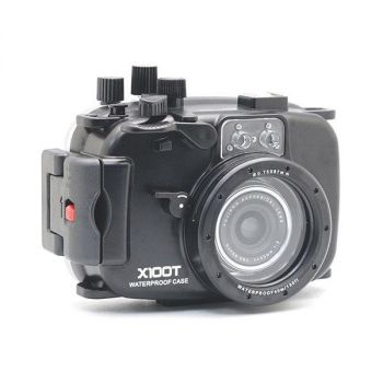 40M/130FT Meikon Fujifilm X100T Underwater Housing Waterproof Case
