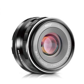 Meike 35mm F1.7 Large Aperture Manual Prime Fixed Lens APS-C for Fujifilm X Mount Mirrorless cameras