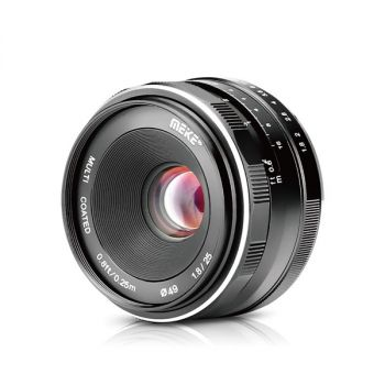 Meike 25mm f1.8 Large Aperture Wide Angle Manual Focus Lens For Sony Cameras