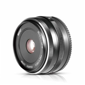 Meike 28mm f/2.8 Fixed Manual Focus Lens for Canon