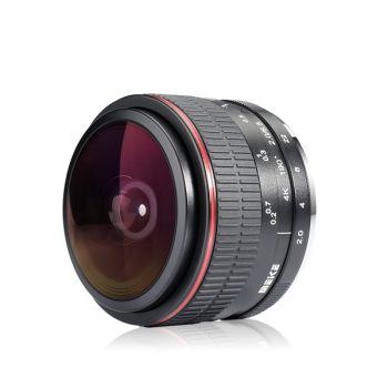 Meike 6.5mm f2.0 Ultra Wide Circular Fisheye Lens for Fujifilm X