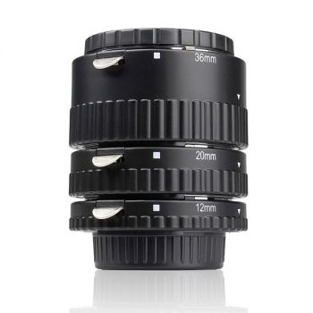 Meike Sony DSLR Macro Auto Focus Extension tube Ring AF