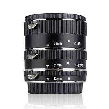 MEIKE Nikon ADSL Electronic Mount Auto Foucs Macro Metal Extension Tube Adapter