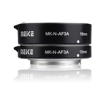 MEIKE Olympus Panasonic Metal Auto Focus Extension Tube Adapter Ring