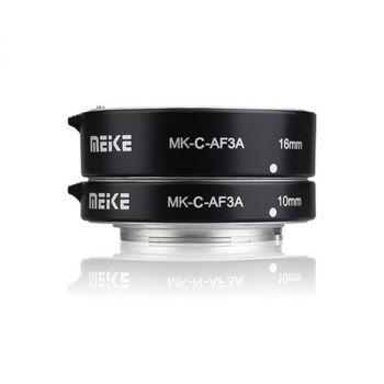 Meike MK-N-AF3A Metal Auto Focus Macro Extension Tube Adapter Ring (10mm+16mm) For Nikon 1 S1 J3 V2 J2 AW1 Lens