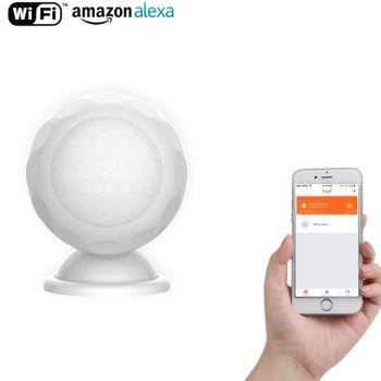 Smart Smoke Sensor WIFI Wireless Detector Home Security Alarm System