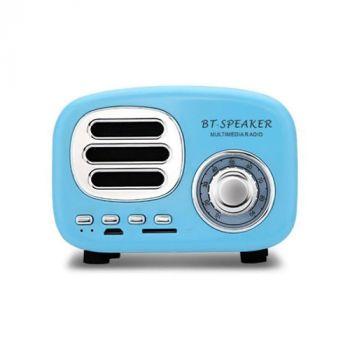 BT02 Portable Retro Mini Bluetooth Speaker