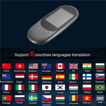 Portable Smart Voice Translator For Real Time 25 Multi-Language Translation