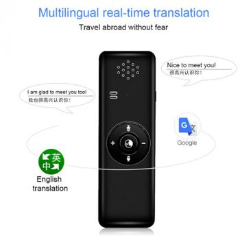 Portable Bluetooth Voice Real Time Instant Translator