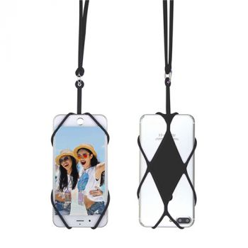 iphone Silicone Mobile Keys Neck Strap Lanyard Mobile Phone