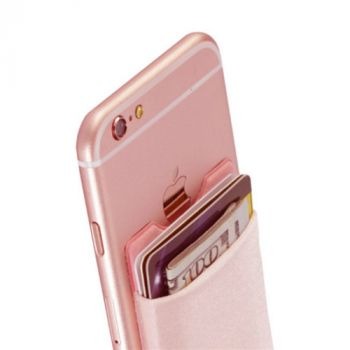 Universal Cell Phone Adhesive Pouch Card Holder Pocket