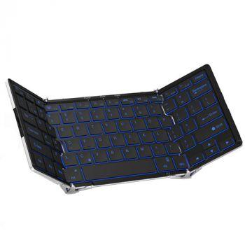 Aluminum alloy portable mini bluetooth keyboard ipad
