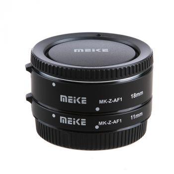 Meike MK-Z-AF1 11mm and 18mm extension tubes for Nikon Z6 Z7
