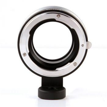 Infinity Focus Adapter Nikon F Lens to Olympus E-PL9 Panasonic M4/3 Camera