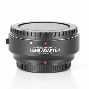 Electronic auto focus AF lens adapter for canon EOS EF-S to M4/3 Micro 4/3 camera