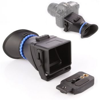 """Universal 3.0X LCD viewfinder for 3"""" 3.2"""" screen Canon Nikon Sony DSLR camera"""