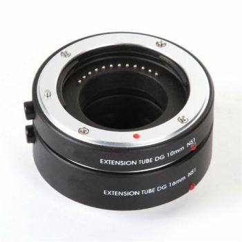 FOTGA auto focus macro extension tube 10 16mm for Nikon 1 mount J1 J2 J3 V1