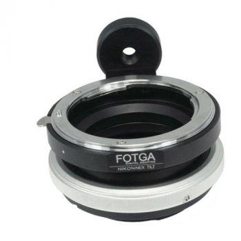 FOTGA tilt adapter for Nikon to Sony E camera NEX7 A7III A7RIII A9 A6500 A6000