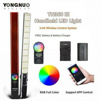 Yongnuo YN360 III pro LED video light handheld stick bar
