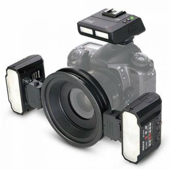 Meike MK-MT24 Macro Twin Lite Flash For Canon Nikon Sony
