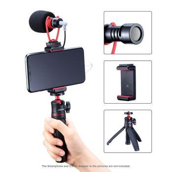 Ulanzi smartphone video kit2 mini tripod phone holder microphone