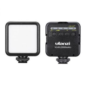 ULANZI VL49 mini LED video light built-in battery 49 phone LEDs fill lamp