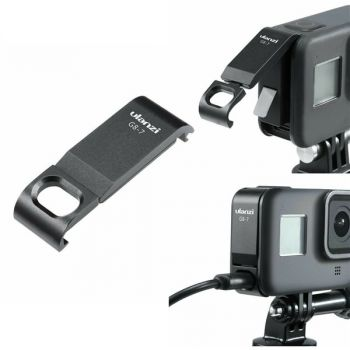 Removable for GoPro hero 8 ULANZI battery lid door battery cover G8-7 port cover