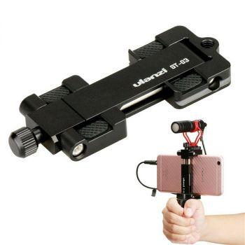Ulanzi ST-03 metal smartphone tripod mount stand bracket arca-style holder