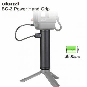 Ulanzi BG-2 6800mAh power grip stick vlog selfie stick for gopro osmo