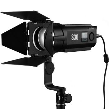 Godox S30 30Ws spotlight continuous foucsing LED light