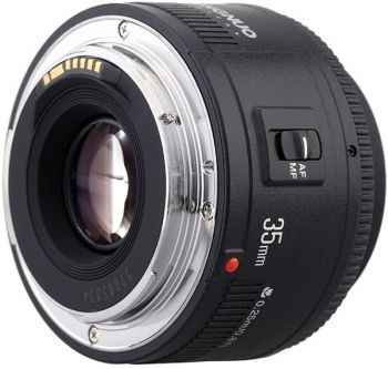 Yongnuo 35mm F2.0 lens wide angle auto focus lens for canon