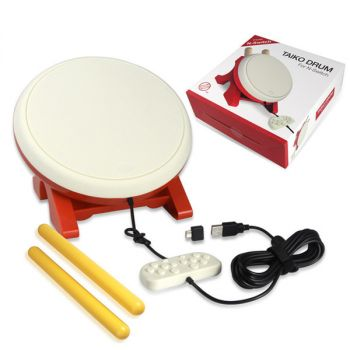 nintendo switch taiko game drum