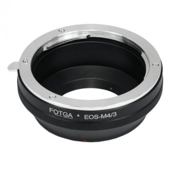Canon EOS EF lens to M4/3 Adapter for Panasonic Lumix GF7 GF6 G6 G5 GM5 GH4