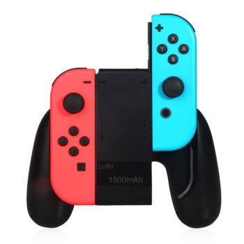 charging grip handle dock station for nintendo switch joy con