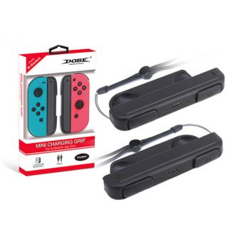 mini charging grip charger station dock for nintendo switch joy-con