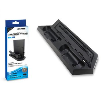 playstation PS4 cooling fan charging dock vertical stand