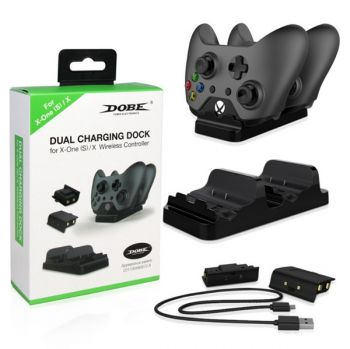 dual controller fast charger charging dock station