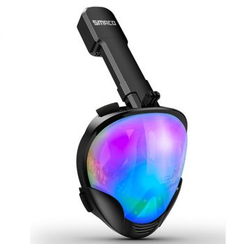 UV Protection Anti-Fog Full Face Snorkel Mask