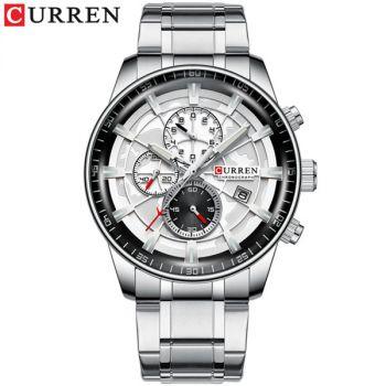 CURREN 8362 waterproof chronograph men quartz watch