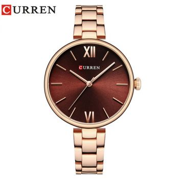 CURREN 9017 women quartz watch lady bracelet watches