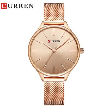 CURREN 9024 women quartz watch lady bracelet watches