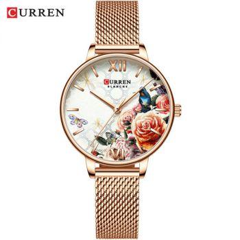 CURREN 9060 women quartz watch lady bracelet watches