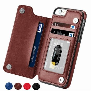 Slim Leather Cover Wallet Case For iPhone 12 11 pro max 8 7 6 plus
