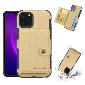 leather back cover wallet case for iPhone 12 11 pro max 8 7 6 plus c20