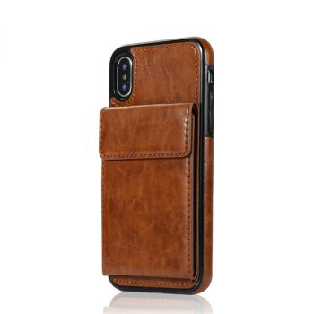 leather back cover wallet case for iPhone 11 pro max 8 7 6 plus C23
