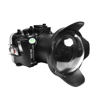 40M sea frogs canon EOS R5 underwater housing waterproof case