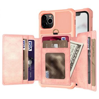 Leather Wallet Case Pouch For iPhone 11 pro max 8 7 6 plus C28