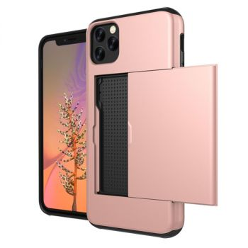 slide card wallet case For iPhone 12 11 pro max 8 7 6 plus C34