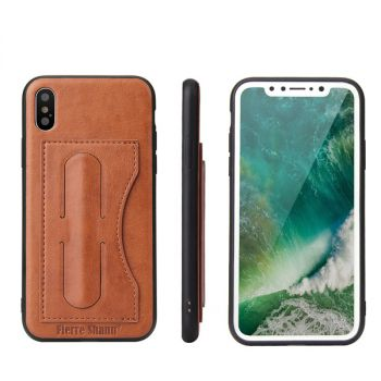 Stand Card Slot Back Cover Wallet Case For iPhone 12 11 pro max mini 8 7 6 plus C40