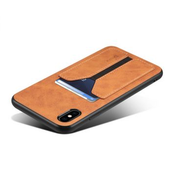 leather back cover wallet case for iPhone 12 11 pro max mini 8 7 6 plus C50